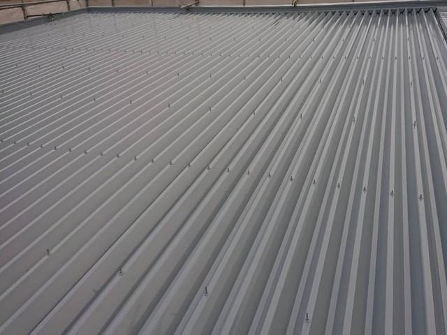 屋根塗装 折半屋根 完成