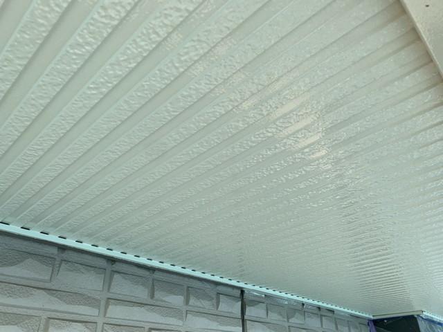 外壁塗装 付帯部塗装 軒天井 完成