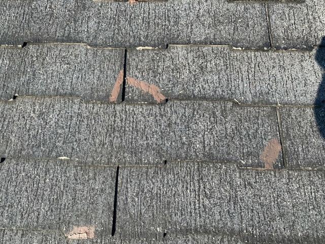 屋根塗装 下塗り後