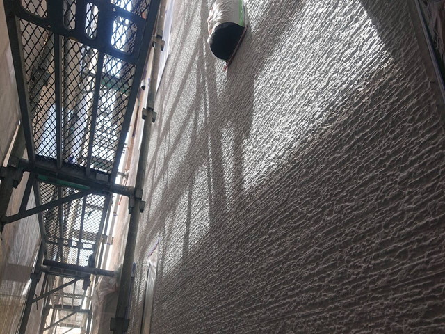 外壁 サーフ下塗り