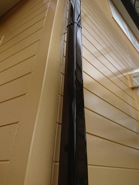 外壁塗装 付帯部塗装 雨樋 竪樋