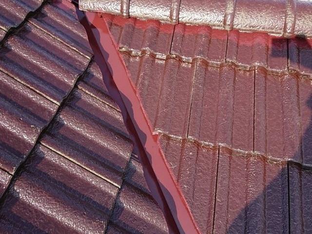 屋根塗装 モニエル瓦