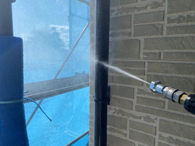 高圧洗浄 雨樋