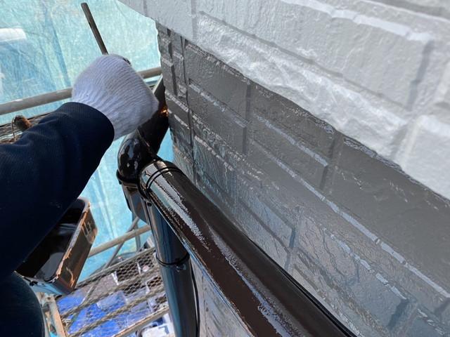 竪樋 塗装