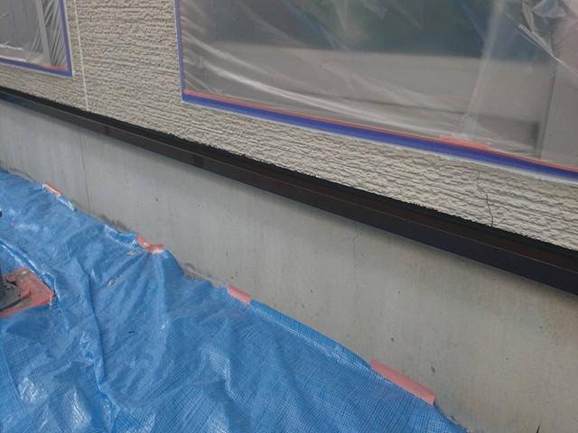 土台水切 塗装