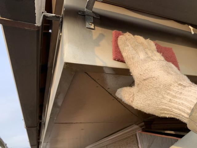 外壁塗装 下地処理 ケレン作業