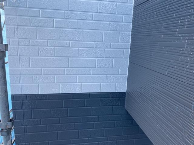 外壁 色分け