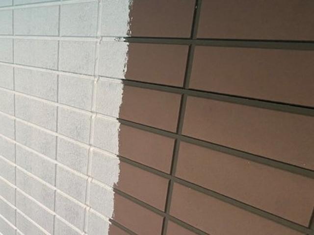 外壁塗装工事 下塗り