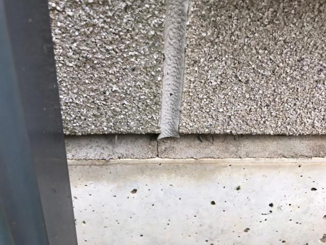外壁 リフォーム 現地調査 コーキング 劣化