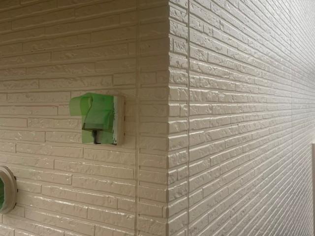 外壁塗装 上塗り 完成