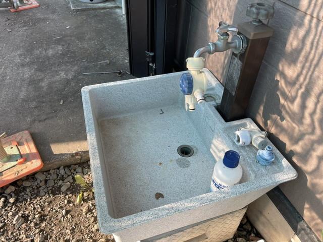 洗浄後外水道