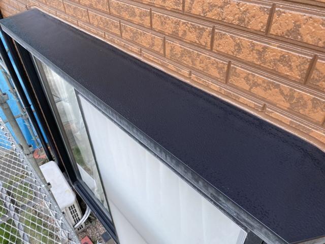 出窓天板 塗装