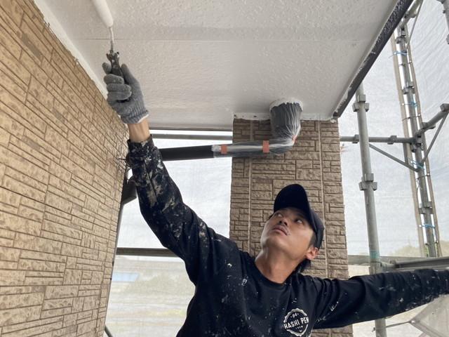 軒天井 塗装