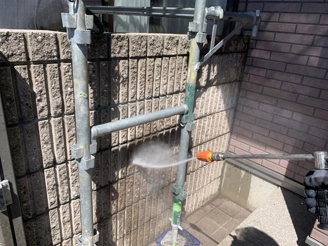 門 高圧洗浄
