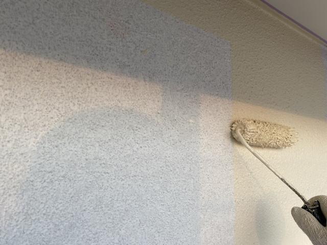 モルタル外壁 中塗り