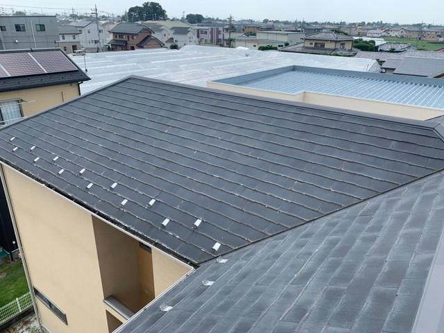 屋根カバー工法工事前